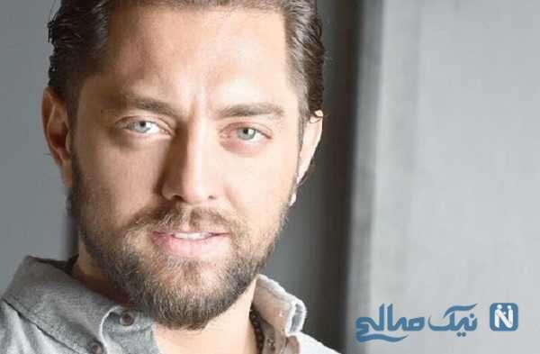 عکس بهرام رادان برای تبریک تولد گلاره عباسی از پشت صحنه ابلق
