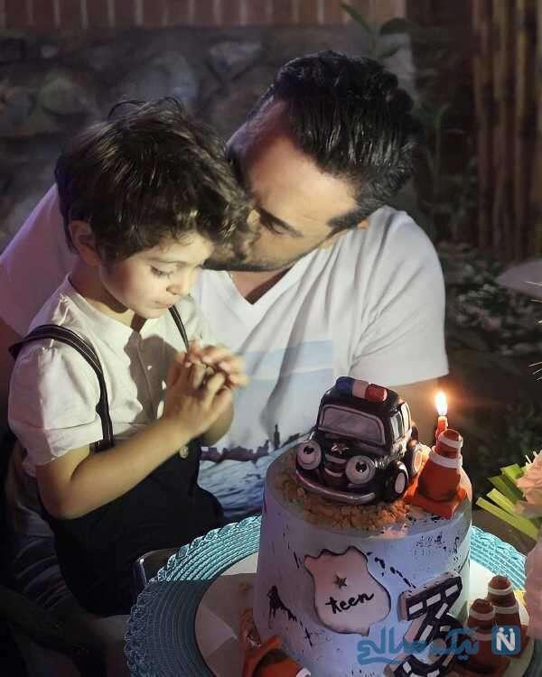 تولد پسر پدرام کریمی