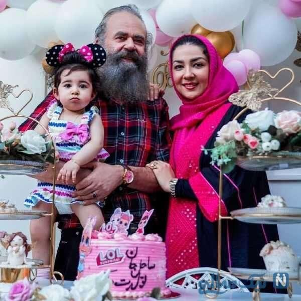 تولد دختر امیرحسین شریفی