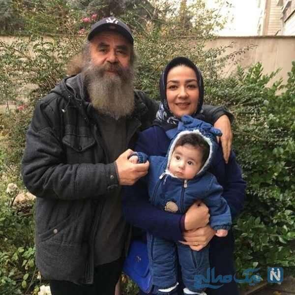 همسر و دختر امیرحسین شریفی