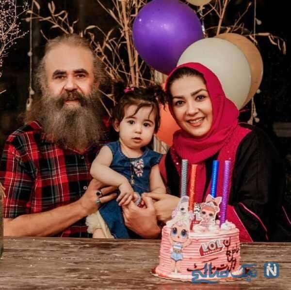 جشن تولد دختر سارا صوفیانی