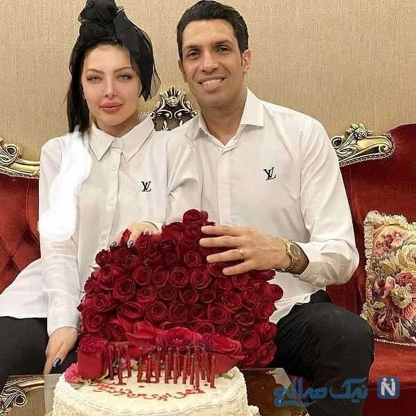 جشن تولد همسر سپهر حیدری