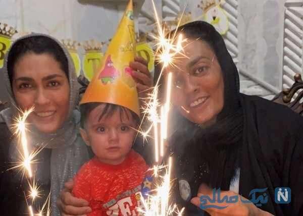 جشن تولد فرزند شهربانو منصوریان
