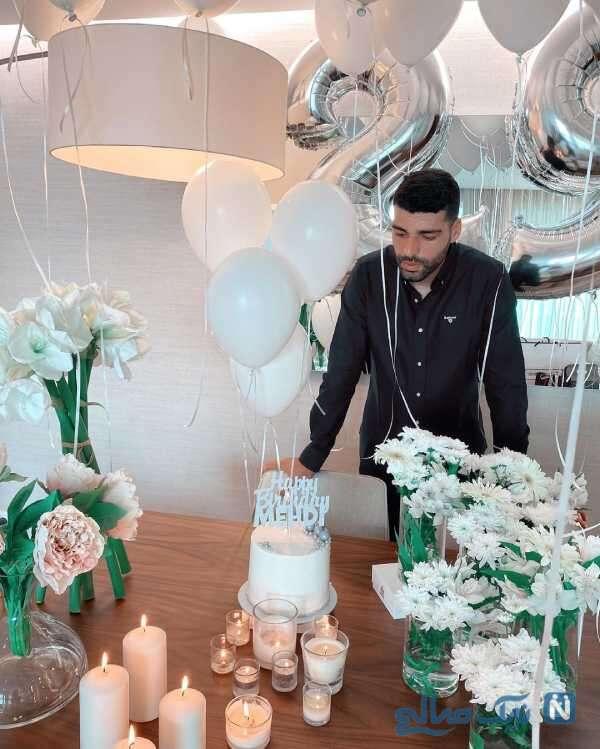 جشن تولد 29 سالگی مهدی طارمی