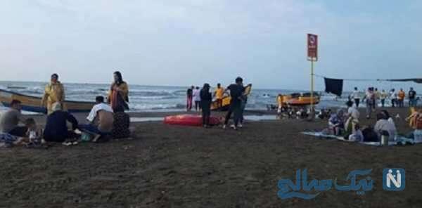 ساحل مازندران در کرونا
