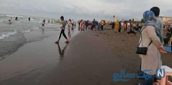 وضعیت ساحل دریای مازندران