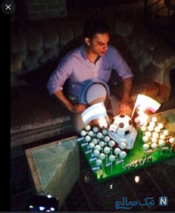 جشن تولد بازیگر معروف