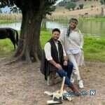 تصویر جدید از فرزندان بابک جهانبخش و همسرش پریا پرتوی راد