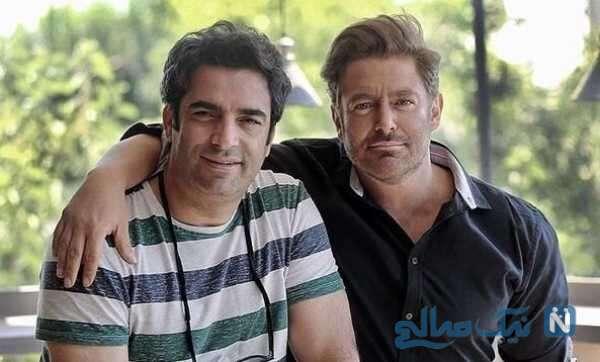 بازیگر سینما محمدرضا گلزار و منوچهر هادی