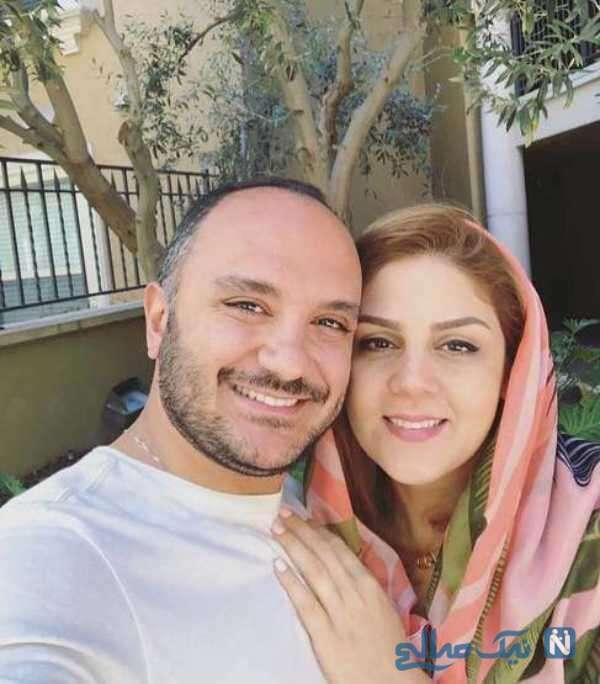 مجری تلویزیون و همسرش