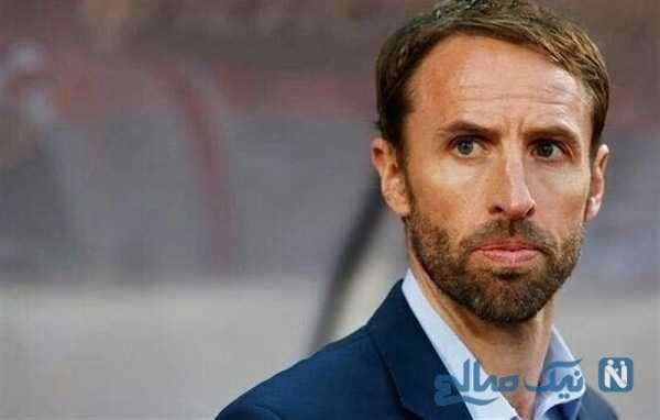 تغییر چهره عجیب یک هوادار زن به سرمربی تیم ملی انگلیس