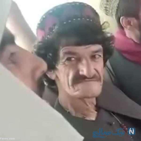 تصویری از کمدین معروف افغان