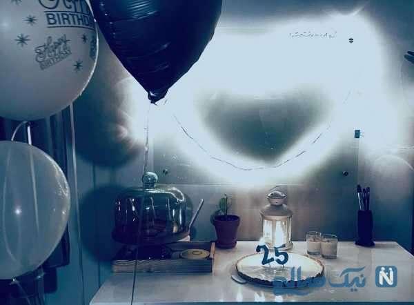 تولد 25 سالگی فاطیما بهارمست