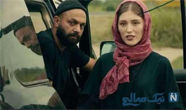 تصویری از فرشته حسینی بازیگر سریال قورباغه