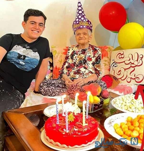 تولد مادر بزرگ امیرمحمد متقیان