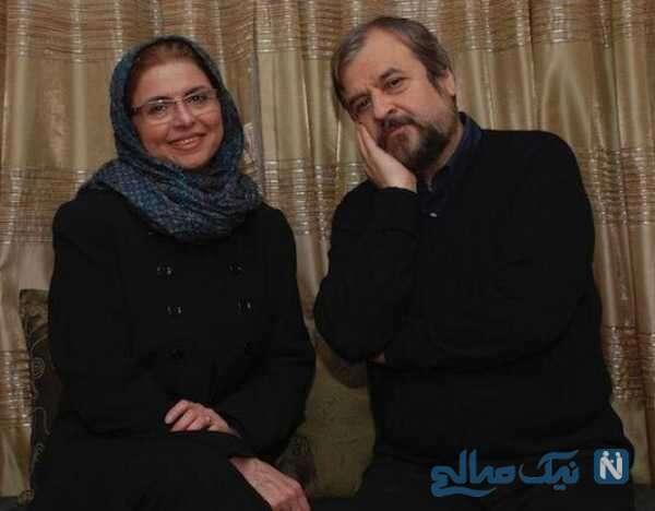 حمیدرضا مفسر و همسرش