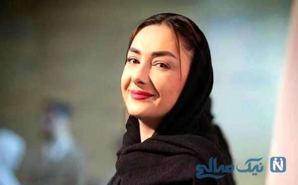 تفریحات تابستانی هانیه توسلی بازیگر سریال زخم کاری در طبیعت