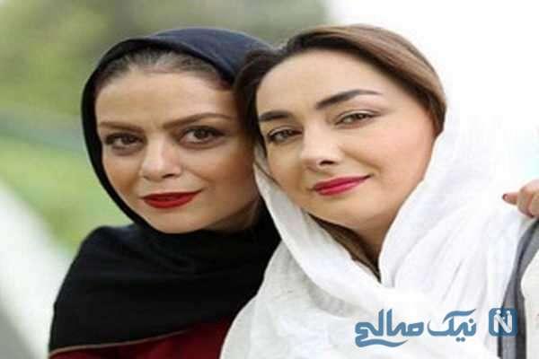 شبنم فرشادجو و هانیه توسلی بازیگر ایرانی