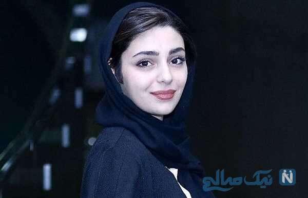 شبنم مقدمی و هستی مهدوی بازیگر در نمایشگاه عکس پیام ایرایی