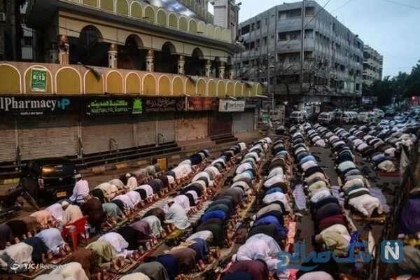 نماز عید قربان در سراسر جهان