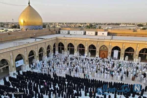 تصاویری از برگزاری نماز عید قربان