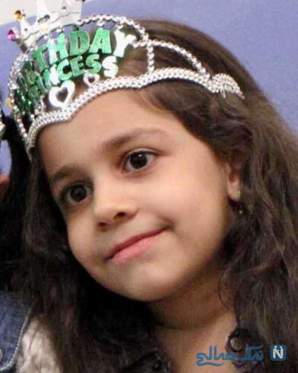 تبریک تولد جواد رضویان برای دخترش