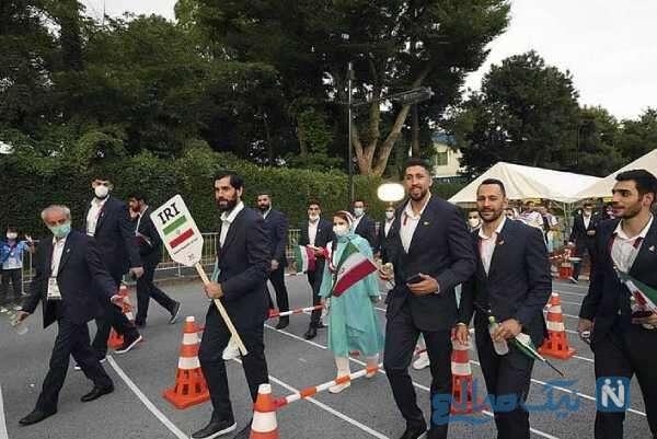 ورزشکاران ایرانی در المپیک 2020