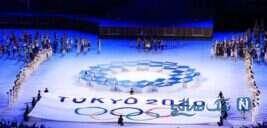رژه کاروان ورزشی ایران در مراسم افتتاحیه المپیک ۲۰۲۰