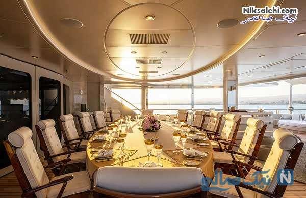 اتاق غذاخوری کشتی