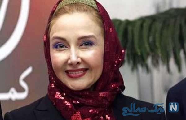 کتایون ریاحی بازیگر سینما در ویلای چند میلیاردی شمال اش