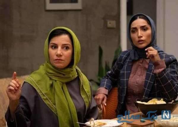 خاطره اسدی بازیگر سریال مردم معمولی