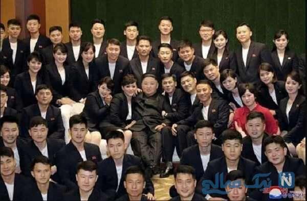 رهبر کره شمالی با تغییر چهره در میان مردم