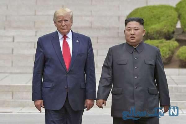 رهبر کره شمالی و ترامپ