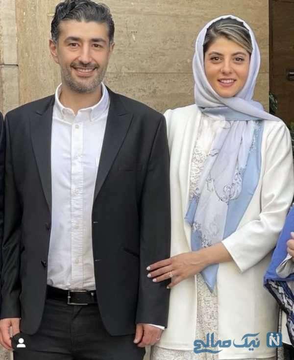 عکس مهسا طهماسبی و همسرش