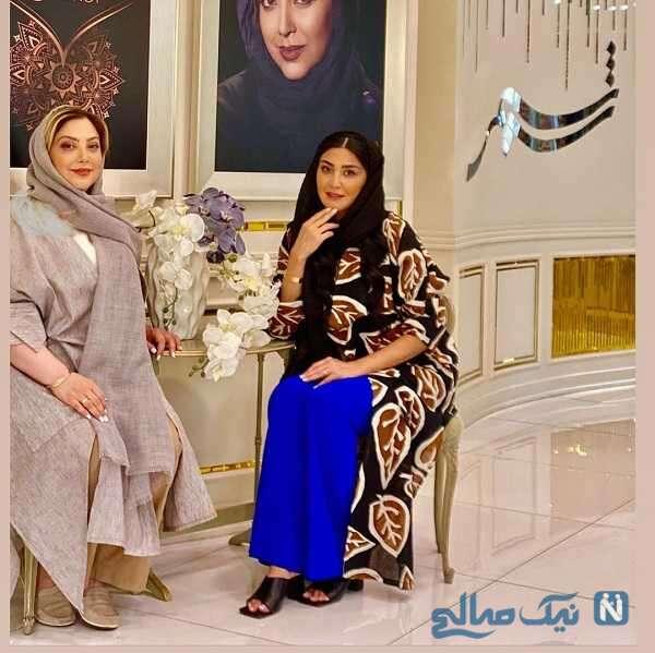 مریم معصومی در سالن زیبایی خانم بازیگر