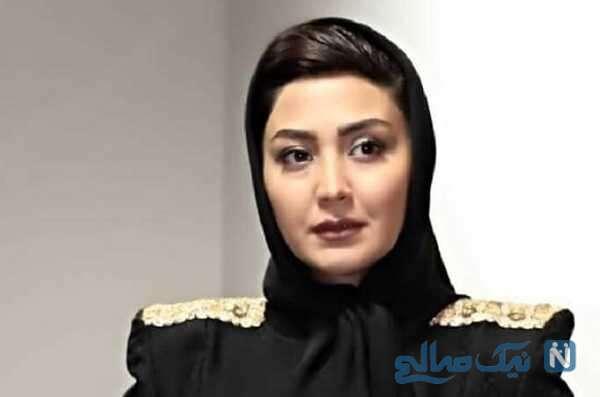 ژست خاص و جذاب مریم معصومی در سالن زیبایی مریم سلطانی