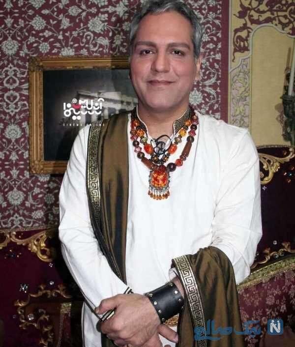 مهران مدیری با لباس هندی