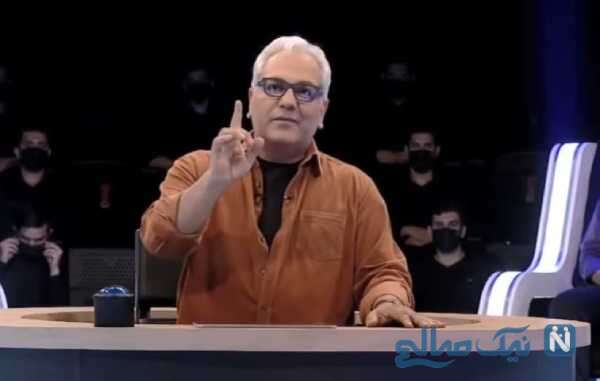 تصویری از مهران مدیری مجری دورهمی
