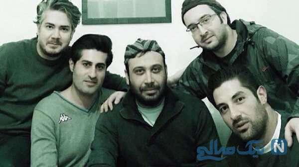 خواننده ایرانی و هوادارانش
