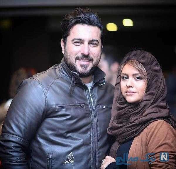 تصویری از محسن کیایی و همسرش