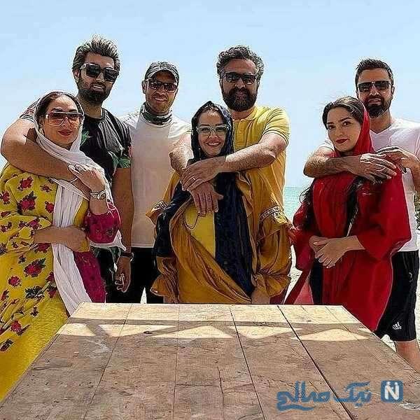 خانم های بازیگر کنار همسرانشان