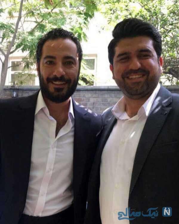 عقد نوید محمدزاده در عید غدیر
