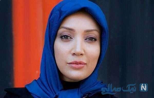 تصویری از چهره متفاوت نگار عابدی در پشت صحنه دودکش ۲