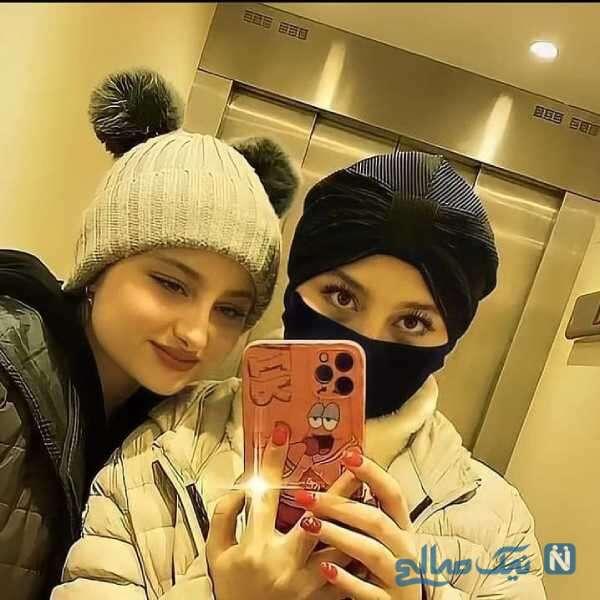 سلفی خواهران دوقلوی سریال پایتخت