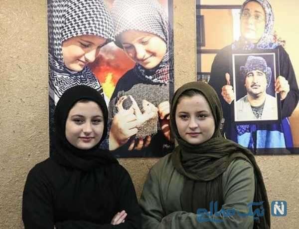 تصویری از نیکا و سارا فرقانی