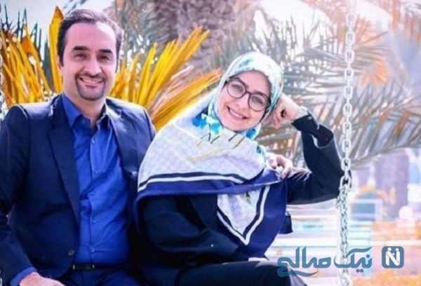 تصویری از نیما کرمی با همسرش