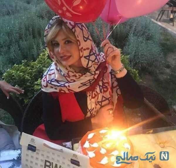 جشن تولد نیوشا ضیغمی بازیگر
