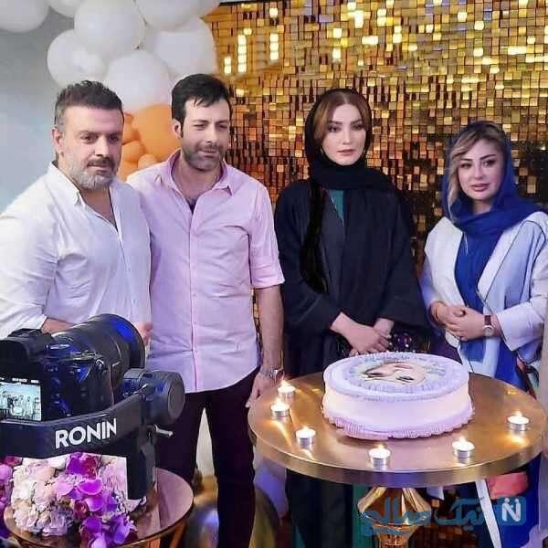 جشن تولد خانم بازیگر