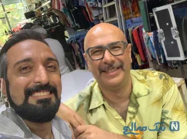 عکس امیرمهدی ژوله و محمد بحرانی