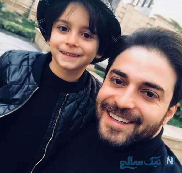 خواننده مشهور و پسرش
